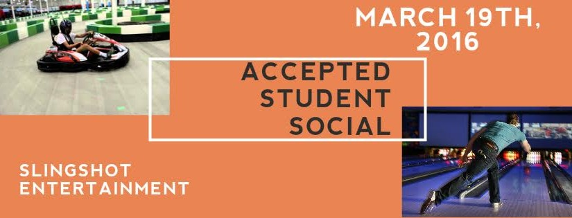 Accepted Student Meet and Greet at Slingshot
